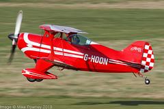 G-HOON - 1974 build Pitts S-1S Special, departing from Runway 26R at Barton (egcc) Tags: 001 aerobatic allan barton biplane brandt cityairport egcb fazmv fbvkb fwvkb ghoon homebuilt jones lightroom manchester maxwell pitts pittsspecial s1s