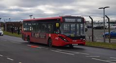 8897 Abellio London (KLTP17) Tags: sn17mte 8897 adl enviro200 mmc abellio london 490 fulwell bus