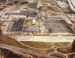Aerial View of Vauxhall Motors (CheshireRO) Tags: ellesmereport cars vauxhall