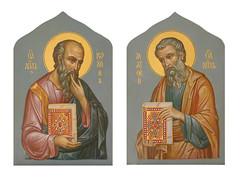 Св. апостолы Иоанн Богослов и Матфей