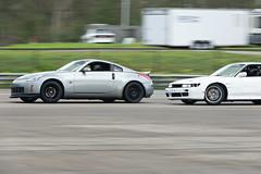 Nissan Family (Find The Apex) Tags: nolamotorsportspark nodrft drifting drift cars automotive automotivephotography nikon d800 nikond800 nissan 350z nissan350z z33 240sx nissan240sx s13 tandemdrift tandem tandemdrifting tandembattle