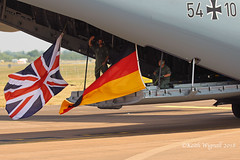 54+10  A400M  German Air Force (Keith Wignall) Tags: fairford ffd riat a400m germanairforce gaf luftwaffe cargo