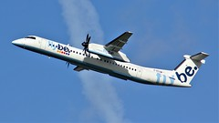 G-ECOM (AnDyMHoLdEn) Tags: flybe dash8 bombardier egcc airport manchester manchesterairport 23r