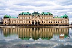 Palacio de Belvedere (Víctor Bautista) Tags: palaciodebelvedere palacio belvedere viajar europa austria viena sisi reflejo travel travelling europe viajando viajeros