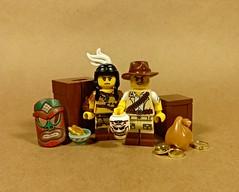 LLoH - The New Brickhaven Archeological Expedition (slight.of.brick) Tags: lego league heroes supervillain archeologist
