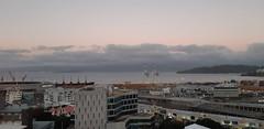 Project 365:098 (Jacqi B) Tags: project365 project3652019 viewfrommyoffice dusk wellington wellingtonharbour nz newzealand aotearoa