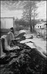 Strömsberg (Eklandet) Tags: black blackandwhite blackandwhitephotography bw ice monochrome smow svartvitt white winter monochromephotography sweden old photo