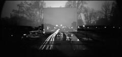Völklinger Strasse (andi_heuser) Tags: urban verkehr traffic berufsverkehr commutertraffic strasse street völklingerstrasse düsseldorf film analog analogue schwarzweiss blackwhite schwarzweissfilm ilford ilforddelta3200 6x12 mittelformat mediumformat 120 nachtaufnahme nightshot langzeitaufnahme longtimeexposure doppelbelichtung doubleexposure lochkamera pinholecamera holga holga120wpc andiheuser