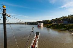 5061 - Approaching Natchez (Ken McChesney) Tags: america mississippi natchez river ships