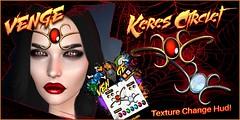 VENGE - Keres circlet Advert (Vixn Dagger - Vengeful Threads / VENGE) Tags: e3rp fantasy macabre dark vamp vampire goth gothic fae fairy elf elven royal roleplay rp venge vengefulthreads