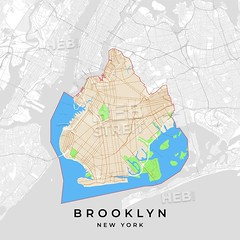 [Print Templates] [U.S.A.] Vector map of Brooklyn, New York, USA (Hebstreits) Tags: abstract administrative area art background banner bay blue borough bridge brooklyn card design destination detail division geography green grey highway holidays hudsonriver island large layout light location manhattan map metropolitan modern navigate navigation newyork newyorkers nofont orange park pdflicense place poster print printable red river roads streets symbol template textfield transportation urban vacation vector waterfront