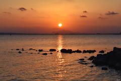 Another sunset over the Mediterranean! (Nina_Ali) Tags: sun spain espana dreamy tranquility serenity lastlight backlit backlight lightdirectory chasinglight