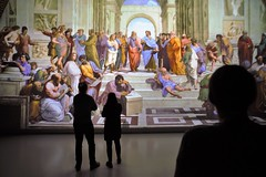 The School of Athens @ Deep Space 8K (Ars Electronica) Tags: raffael theschoolofathens schoolofathens deepspace8k arselectronica arselectronicacenter culturalheritage art history kunstgeschichte linz österreich austria technologie technology 2019