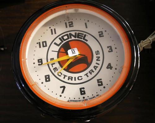 Lionel Clock ($100.80)