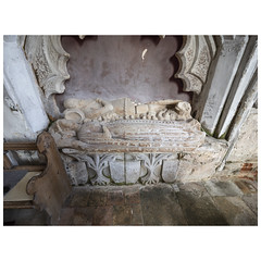 Tomb of Thomas de Burgh (d.1334) (badger_beard) Tags: st augustine canterbury burrough green cambridgeshire south cambs east newmarket parish church england monument thomas de burgh