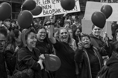 8M Día Internacional de la Mujer  - Bilbao (Samarrakaton) Tags: samarrakaton 2019 8m díainternacionalmujer mujeres manifestación bilbao bizkaia reivindacación protesta nikon d750 70200 manifestation woman byn bw blancoynegro blackandwhite monocromo