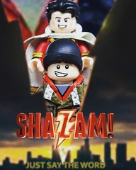 Finalmente oggi esce Shazam !! Non vedo l'ora di vedermi sto film . Today Is the day !!! Shazam Is in theaters here in Italy  #hype #excited  This Is my minifigscustom from the movie ! #shazammovie #shazam #Dc #minifigcustom #minifigs #hero #zacharylevi # (-Toy Designer & iacopo / Minifigures / Custom-) Tags: custommade shazamilfilm toydesign imc minifigcustom ps italy minifigs toy shazammovie sculpt dc painting photo shazam comics excited zacharylevi hero custom movie hype lego justsaytheword
