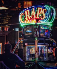 Craps (podolux) Tags: 2019 oneword onewordcraps casino game games gambling gamble lasvegas nevada nv sony sonya7 sonyilce7 ilce7 a7 april2019 colors light lights signs sign