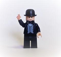 Winston Churchill (brickhistorian) Tags: war world ww2 wwii brick bricks britain battle history winston churchill prime minister minifig minifigure military lego legos leader
