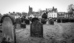 Moffat (wayman2011) Tags: colinhart fujifilmxf18mmf2 fujifilmxt1 lightroom5 wayman2011 bwlandscapes mono town graveyards gravestones churches scotland moffat uk