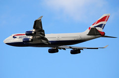 British 747 (Infinity & Beyond Photography: Kev Cook) Tags: british airways boeing 747 747400 b747 aircraft airplane airliner london heathrow airport lhr photos planes gcivw
