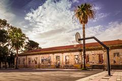 Canestro (fabiom277) Tags: campo basket scuola elementare abbandonata sicilia san filippo del mela messina milazzo fabio malerba