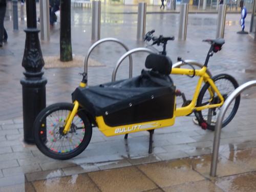 Bullitt bike - High Street, Solihull