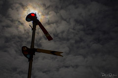 Silent Night (Patrick Dirden) Tags: signal semaphore semaphoresignal railroadsignals moon night nightphotography silhouette rail railroad sp southernpacific southernpacificrailroad nilescanyonrailway ncry sunolca alamedacounty eastbay bayarea northerncalifornia california