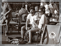 Summer time . (Franc Le Blanc .) Tags: people sit sitting seated buurt terras shertogenbosch