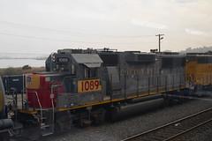 UP 1089 (imartin92) Tags: martinez california unionpacific railroad railway freight train emd gp60 cottonbelt ssw southernpacific locomotive