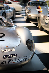 Porsche 718 RSK - Porsche 550 - ... (dderycke) Tags: porsche german germany car supercar racecar race racing fast quick heritage canon 750d 1855mm 50mm eos blue green pink gray grey silver darkblue 997 911 918 718 959 935 gt3 rs 40 oldtimer
