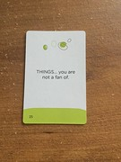Card 20 (Pookie_Monster) Tags: card 20 things youre fan