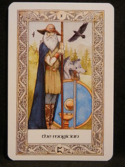 The Magician. (Oxford77) Tags: tarot thenorsetarot norse viking vikings cards card tarotcards