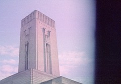 George's Dock Ventilation and Control Station (Jim Davies) Tags: birkenheadtunnel merseytunnel tunnel liverpool film analogue analog veebotique halina telemaster 110 subminiature goree l1 expired colourfilm artdeco architecture