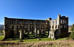 The North Aspect (rustyruth1959) Tags: stone walls valley outdoor northtransept nave ancient ruins grass arch gothicarch lancetwindows flyingbuttress arches architecture church abbeychurch rievaulxabbey rievaulx yorkshire england uk sigma1020mm nikond5600 nikon alamy