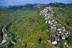 Aerial view of Najac, Aveyron - France (natureloving) Tags: najac aveyron occitanie france aerialviewofnajac southfrance nature village medievalvillage woods forest landscape mountain natureloving nikon d90 nikonafsdxnikkor18300mmf3563gedvr