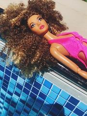 (zadolls) Tags: barbie collector aa black basic gigi hadid luciana albina white joan jett