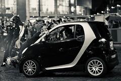 Happy Valentines Day (claudia 222) Tags: paris car people humans summicron90mmf2 night monochrome man bw