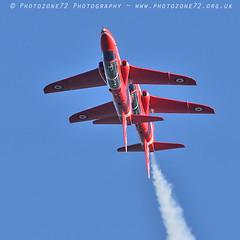 9875 Synchro (photozone72) Tags: raf rafat redarrows reds redwhiteblue aviation aircraft hawk synchro lincolnshire scampton canon canon7dmk2 canon100400f4556lii 7dmk2