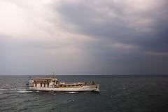 Monsun (JLM62380) Tags: sunset croatia mer sea sky clouds rabac istria istrie boat monsun croisiere cruise