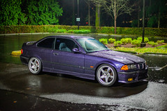 _MG_3433 (andreialta) Tags: bmw m3 night shoot e36 e36m3 technoviolet jdm advantc3 advanwheels yokohama yokohamawheels