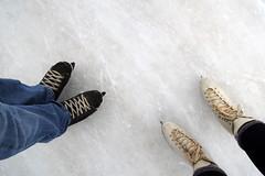 w skates (Simon -n- Kathy) Tags: greycounty thornbury bluemountain ski skate winter snow lights night