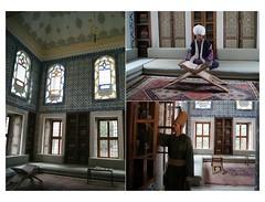 The Library of Sultan Ahmed III (Insher) Tags: libraryofsultanahmediii istanbul turkey topkapi saray islamic art ottomanempire mosaic tile