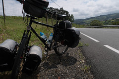 Day 1 Santander to La Serna 3 (granville3) Tags: iberia altura spain españa cantabria touring spanishroads iberia2018 clickstand bike pannier thornnomad n611 bicycle cycle santander es