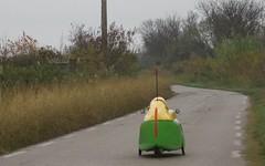 Tricycle électrique à Trois roues en Petite Camargue - IMG_2513 (6franc6) Tags: occitanie languedoc gard 30 petite camargue novembre 2018 6franc6 vélo kalkoff vae