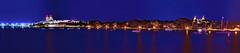 Town of Palm Beach, Palm Beach County, Florida, USA (Photographer South Florida) Tags: westpalmbeach palmbeachcounty city cityscape urban downtown skyline southflorida density centralbusinessdistrict skyscraper building architecture commercialproperty cosmopolitan metro metropolitan metropolis sunshinestate realestate highrise royalparkbridge townofpalmbeach palmbeach clearlake trumptowers panoramic panorama longexposure