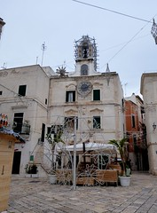 Polignano a Mare (Puglia-Italia). Palacio del Reloj (santi abella) Tags: polignanoamare apulia puglia italia