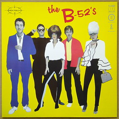 The B-52's [1979] (renerox) Tags: theb52s newwave 70s vinyl lpcovers lp