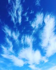 Deep blue... (anka.anka28) Tags: cloud chuma clouds chmury niebieski niebo blue sky