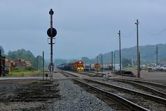 BP 3318 DuBois Yard. Falls Creek, PA (bobchesarek) Tags: bprr railroad trains railyard locomotive cpl borr risi duboisyard freighttrain